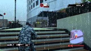 Watch Dogs Sniper Gameplay - Attempting to QuickScope!