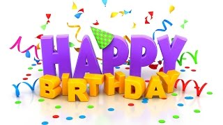 видео Поздравления с Днем рождения на английском