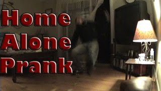 Home Alone Slip Cars Prank