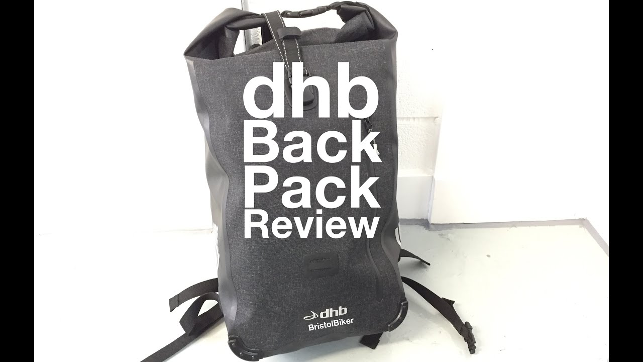 dhb Waterproof Backpack 25L - Review - YouTube
