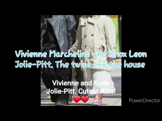 Happy 12th Birthday Knox Leon and Vivienne Marcheline Jolie-Pitt
