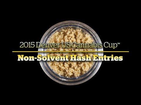 2015 Denver Cannabis Cup: Non-Solvent Hash Entries