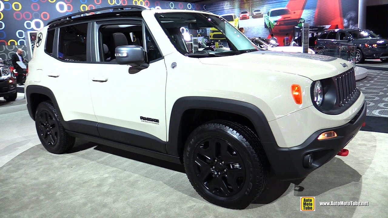 Jeep Renegade Desert Hawk >> 2017 Jeep Renegade Desert Hawk Exterior And Interior Walkaround 2016 La Auto Show