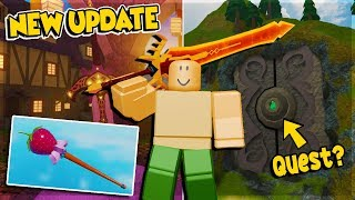 *NEWEST UPDATE* ARE QUESTS COMING OUT? NEW COSMETIC IN DUNGEON QUEST ROBLOX