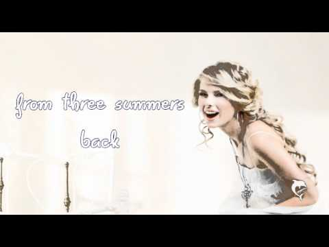 Tim Mcgraw Taylor Swift Lyrics On Screen Youtube
