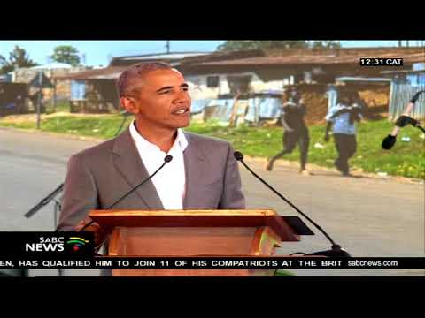 Obama's first visit in Kenya since leaving the White House