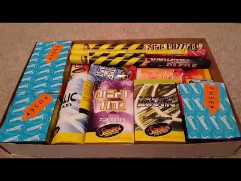 Standard Fireworks Visage selection box - YouTube