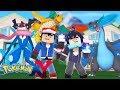 Minecraft: Pokemon Ultra X Y - O PODER DA MASTER BALL DO ASH! EP.4