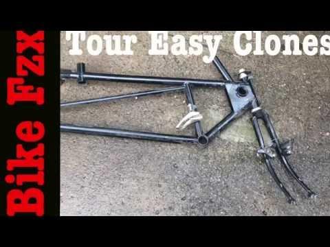 My 2 Tour Easy Recumbent Bicycle Clones