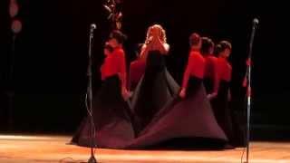 Яровая Ксения -Призрак оперы - на выпускном вечере 2014г.
