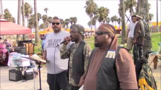 WGN: 08.02.14 -Brother Halak educates on Venice boardwalk