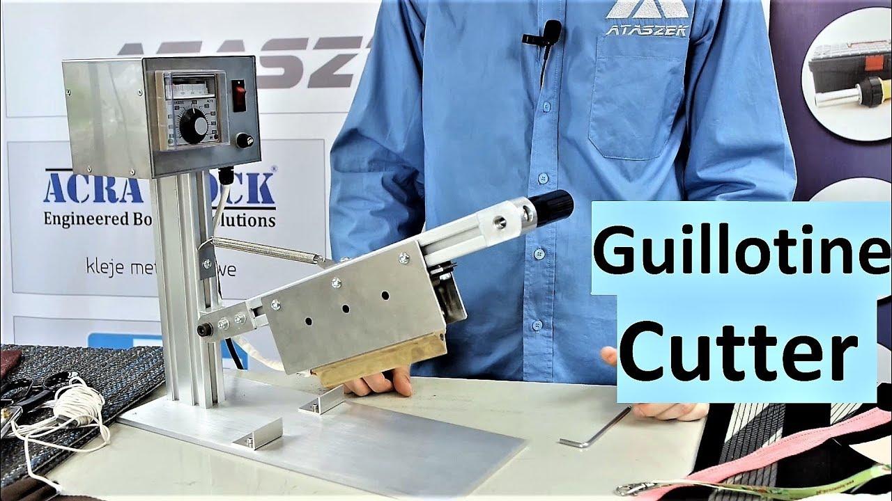 Hot Knife Cutting- for Braided Belt, Nylon belt, PP, Lifting Belt ...