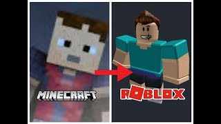 TenTen aventura Roblox | Minecraft transformando-se em Roblox #2