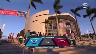 October 04, 2015 - FOX Sports Sun - Preseason Game 01 Miami Heat Vs Charlotte Hornets - Loss (00-01)