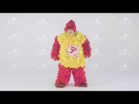 FLOWERMAN Доставка цветов PION.RU