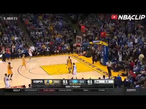 Stephen Curry hits the SICK HALF COURT SHOT - Warriors vs ...