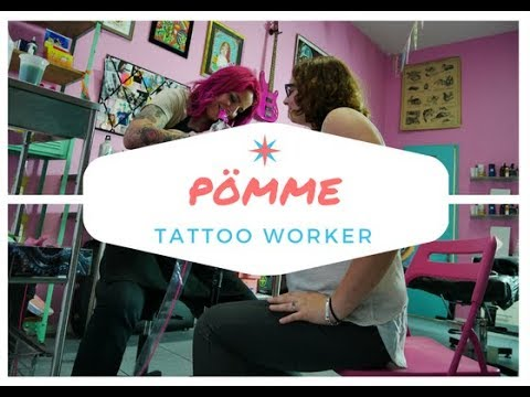 ❥ PÖMME FRENCH FUN TATTOO WORKER  ❥