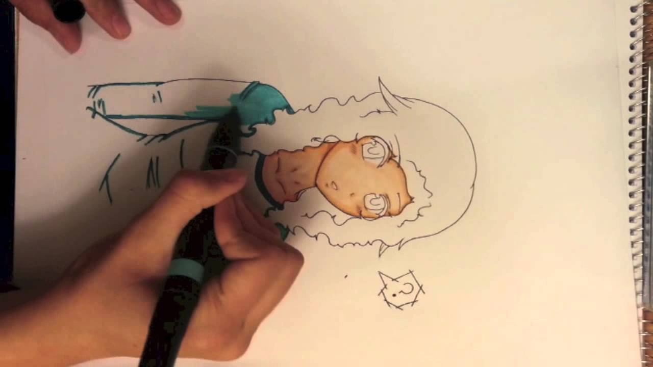 Coloring tutorial/Tips using Prismacolor Markers - YouTube