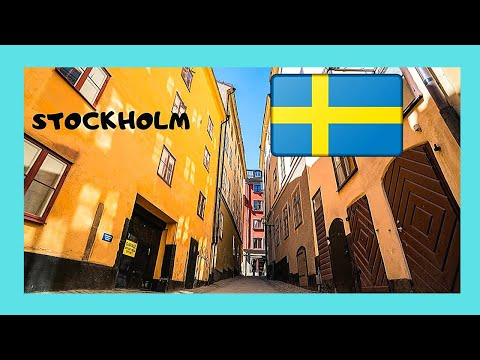 STOCKHOLM'S historic OLD TOWN (GAMLA STAN), a walking tour (Sweden)