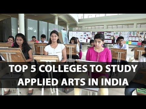 Top 5 colleges to study Applied Arts in India