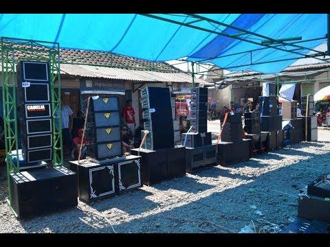 Parade Sound sistem Miniatur Sulap Pasar Banyuwangi Cemetuk jadi Ramai 2018