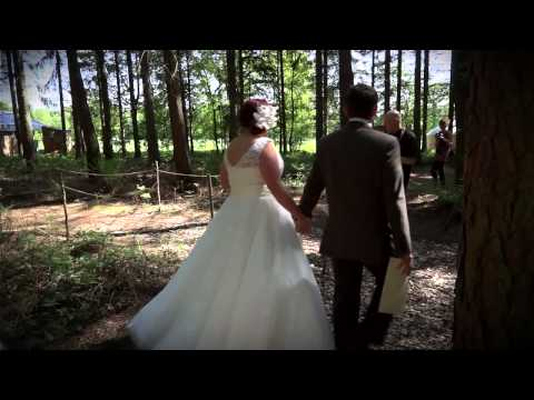 A Glamping Wedding Video from Kamp Kátur in Bedale, North Yorkshire