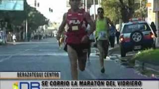 Vibrante final en la 'Maratón del Vidrio'