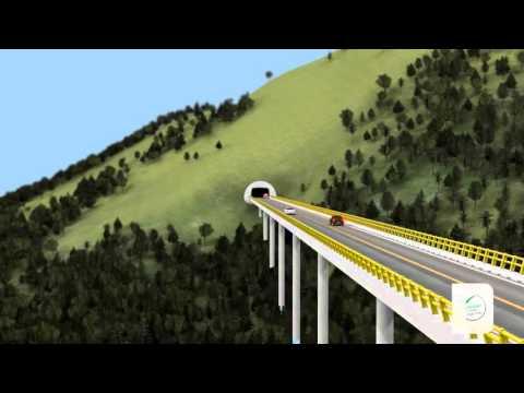 Túnel del Toyo (Santafé de Antioquia - Cañasgordas) | Autopistas para la Prosperidad Colombia