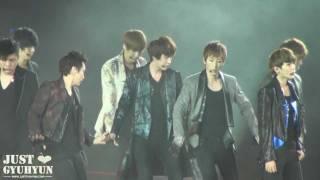 [JustGyuhyun]120219 Super Show 4 in Singapore - A-CHA