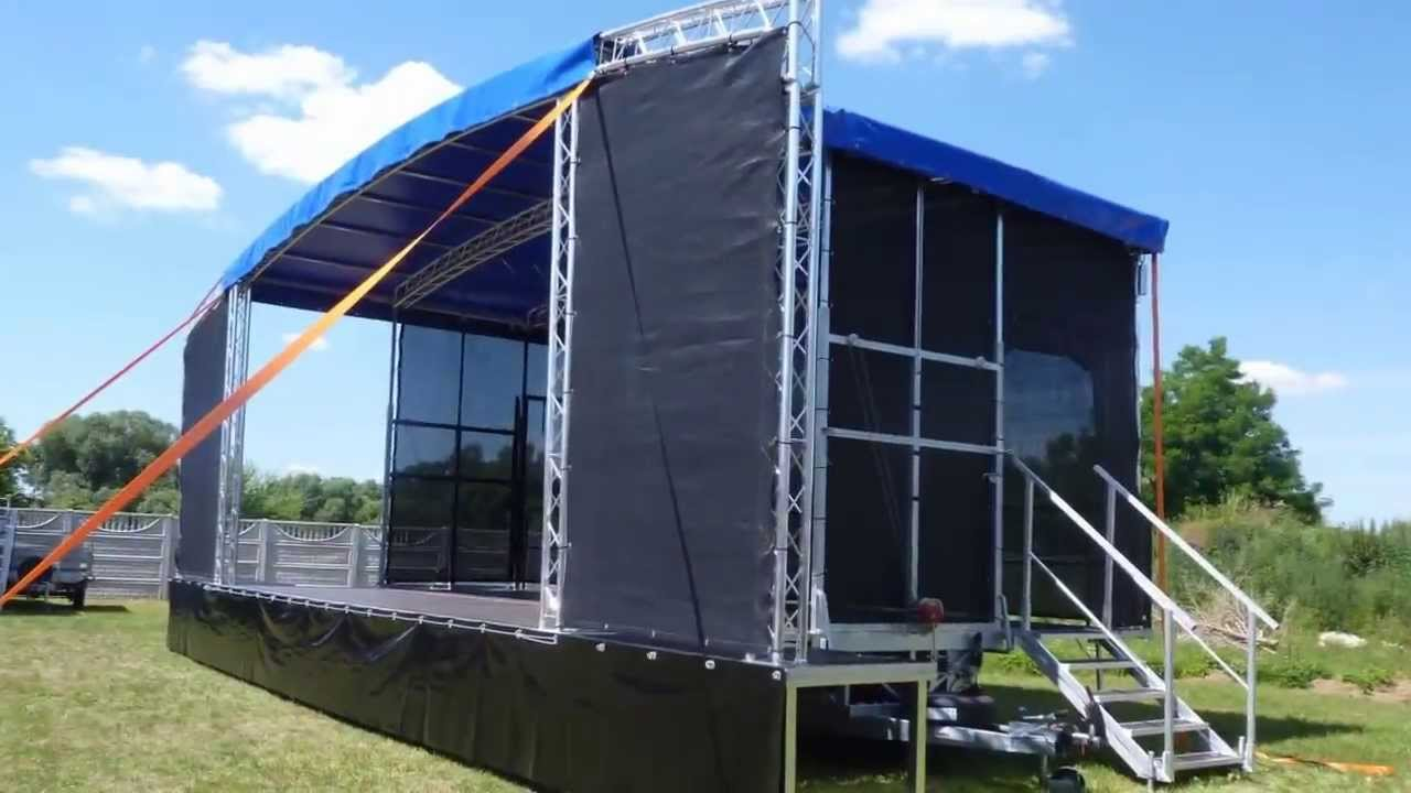Lumex Mobile Stage Arcum X48 8x6 Profiled Roof Pa