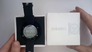умные смарт часы diggro ex18 обзор, настройка, инструкция на русском, отзывы