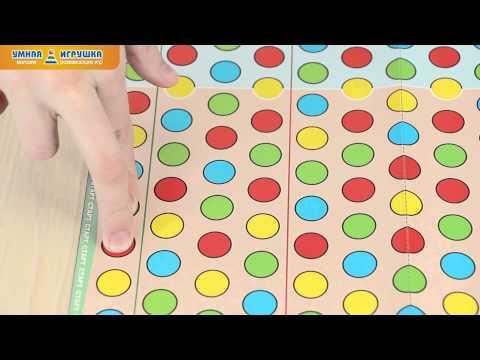Настольная игра «Мини-твистер» для пальцев, STELLAR (Стеллар)