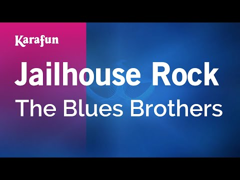 Karaoke Jailhouse Rock - The Blues Brothers *