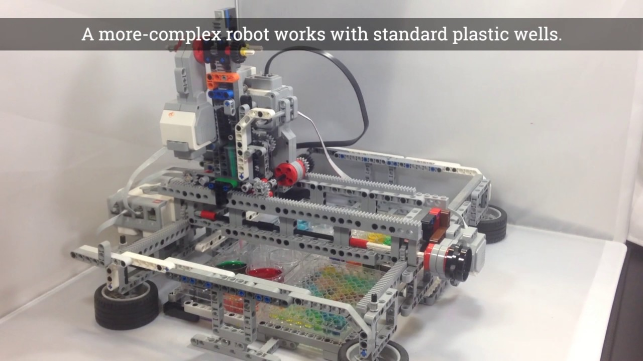 Build-your-own robot can tackle biology and chemistry