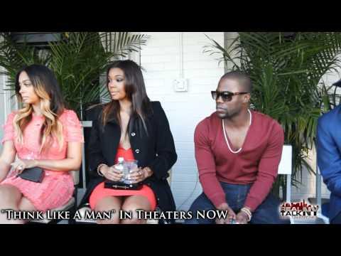 "Kevin Hart, La La, Gabrielle Union & Romany Malco Discuss ""Think Like A Man"""
