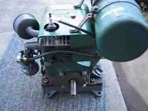 1963 Villiers Mk12/2 industrial engine