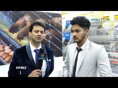 Uday Singh MD Vijay Raj Poultry Equipments Pvt Ltd | Poultry Exhibition 2017  Hyderabad