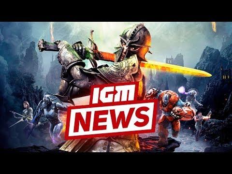 видео: igm news: Разработка dragon age 4 и смерть paragon
