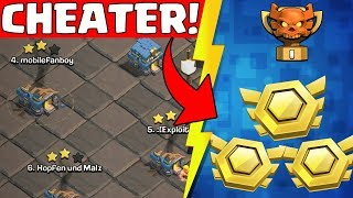 Cheater in Clash of Clans!