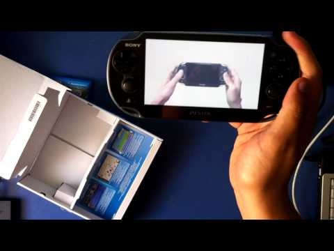 Unboxing PS Vita y Uncharted: El abismo de oro