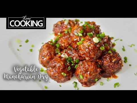 Vegetable Manchurian Dry Recipe | Indo Chinese Starter Recip