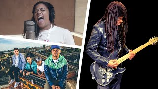 behind the scenes of the le freak remix with nile rodgers and rudimental 30 second teaser