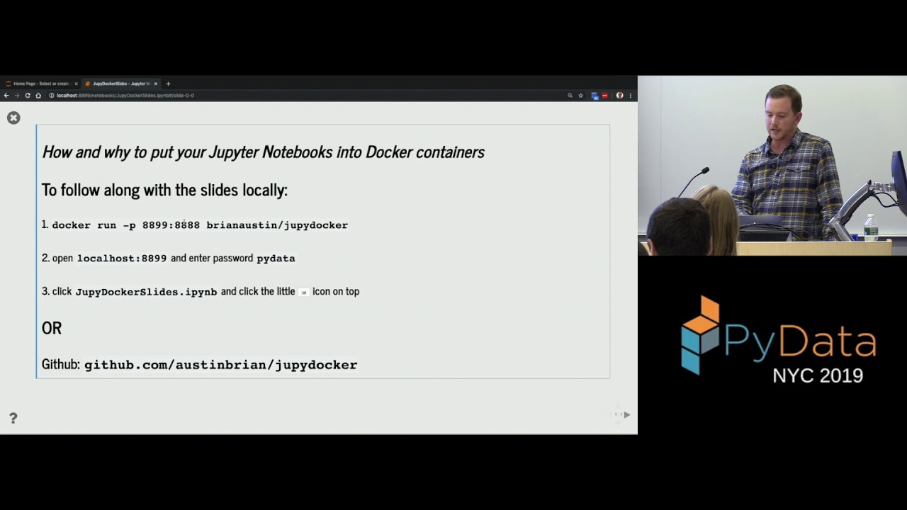 Image from How and why to put your Jupyter notebooks in Docker containers