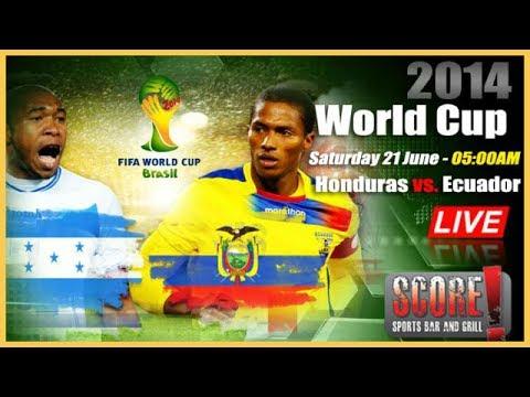 Enner Valencia Goal! Honduras vs Ecuador  World Cup 2014 Full Review