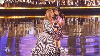 Download Results Quarter Finals Celine Tam Merrick Hanna Mirror Image America's Got Talent 2017 Round 2 Mp3 and Videos