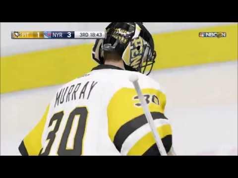 NHL 17 - Pittsburgh Penguins vs New York Rangers | Gameplay (HD) [1080p60FPS]