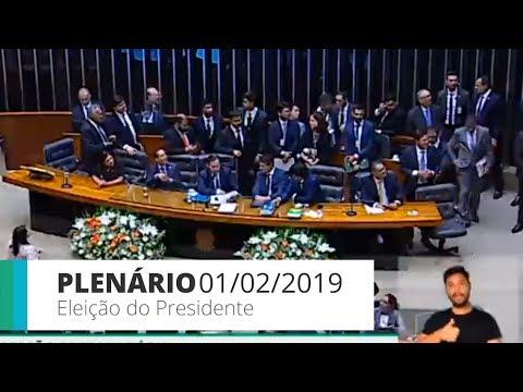 PLENÁRIO - Eleição do Presidente e da Mesa Diretora da Câmara dos Deputados - 01/02/2019 - 18:15