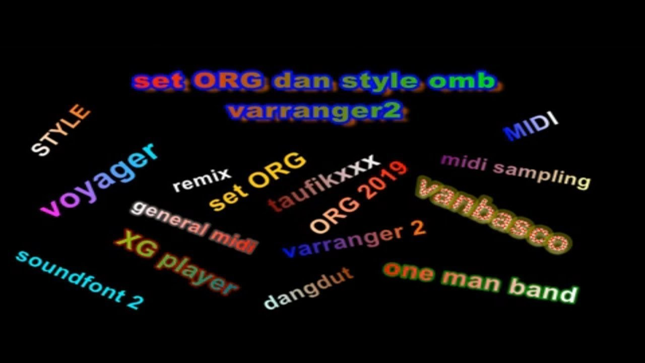 style dan set penceng funky ORG,OMB,varranger2,yamaha