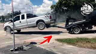 Tow truck Escape and Debtor/Get Away From Tow Truck