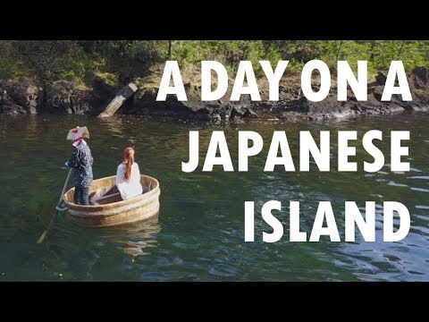 We spent 24 hours on a Japanese island